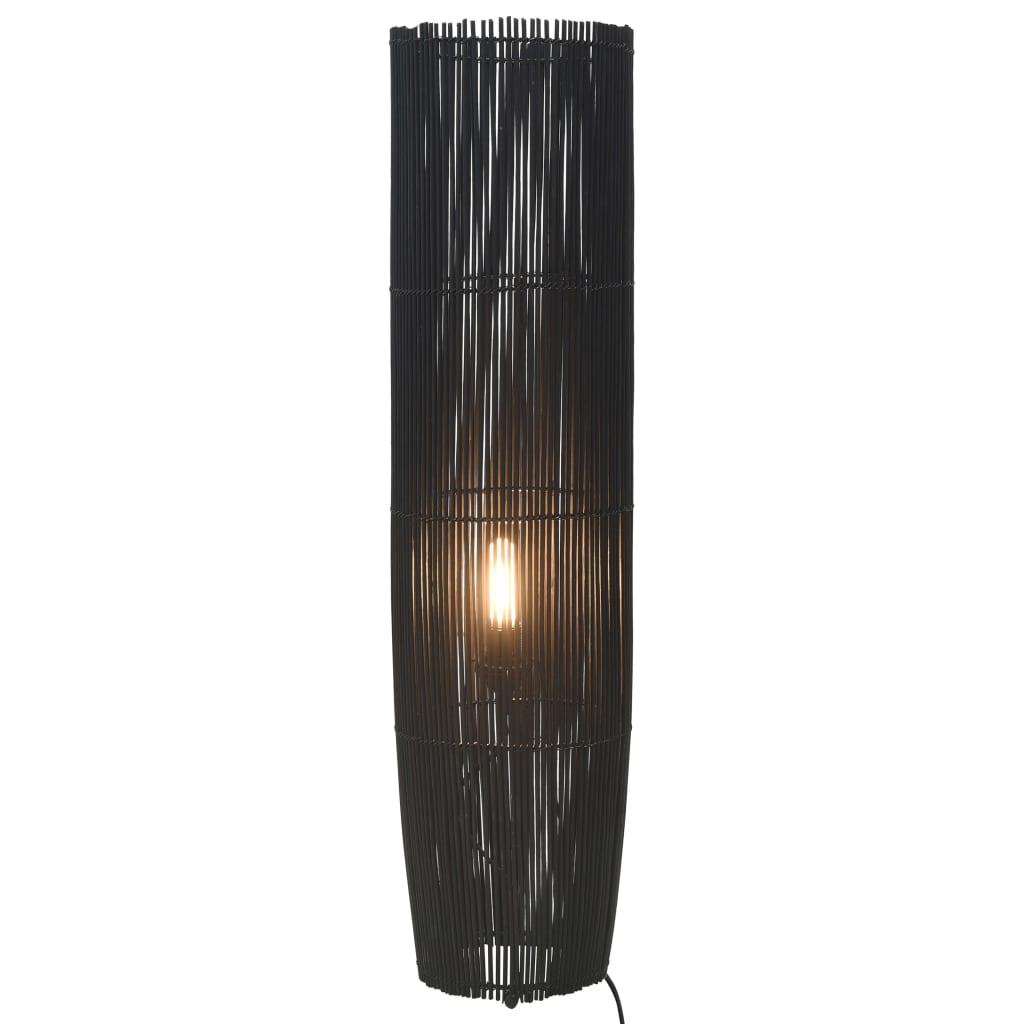 Golvlampa pil svart 72 cm E27