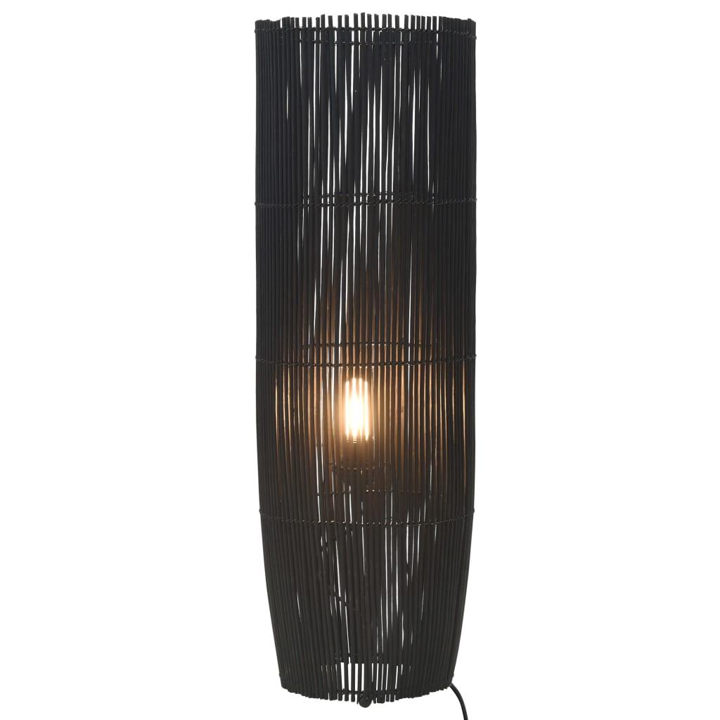 Golvlampa pil svart 84 cm E27