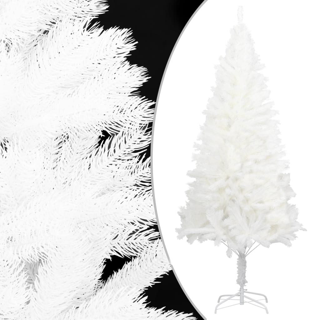 Plastgran med stativ vit 180 cm PE
