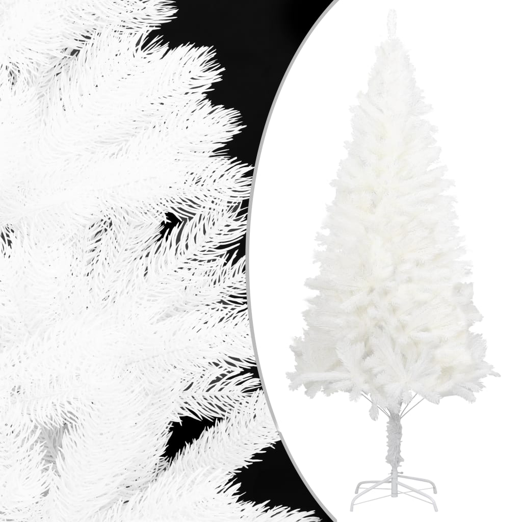 Plastgran med stativ vit 240 cm PE