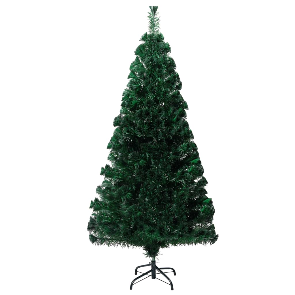 Plastgran med fot grön 120 cm PVC