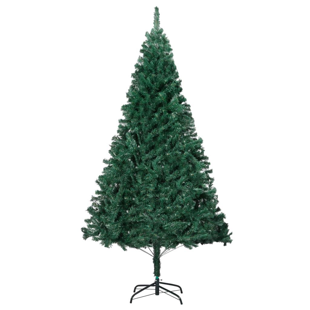 Plastgran med tjocka grenar grön 180 cm PVC
