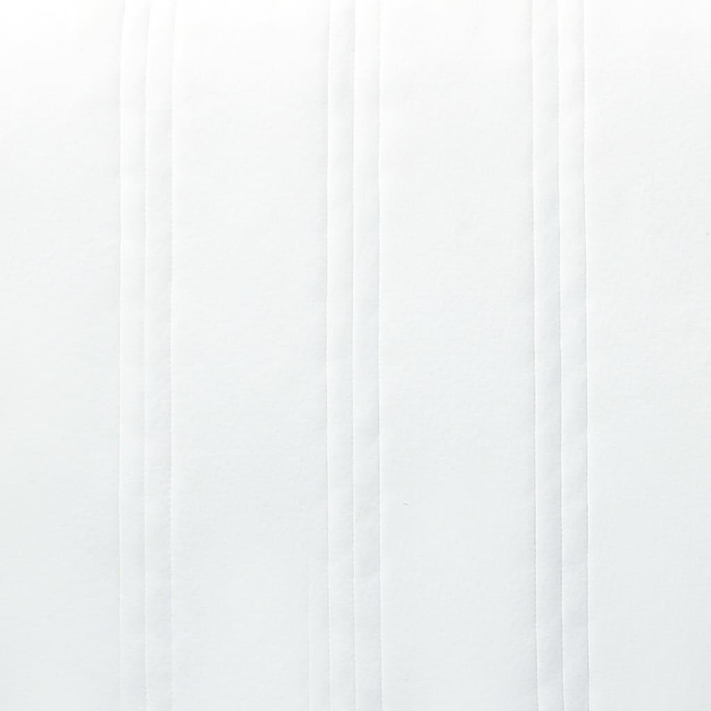 Resårsäng mörkgrå tyg 200x200 cm