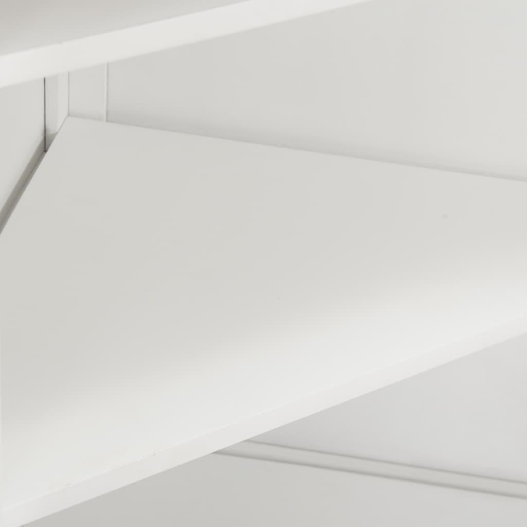 Hörnskåp 59x36x80 cm massiv ek