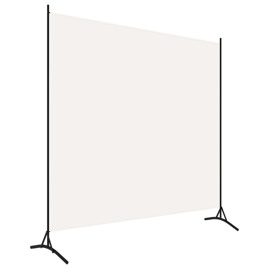 Rumsavdelare 1 panel vit 175x180 cm