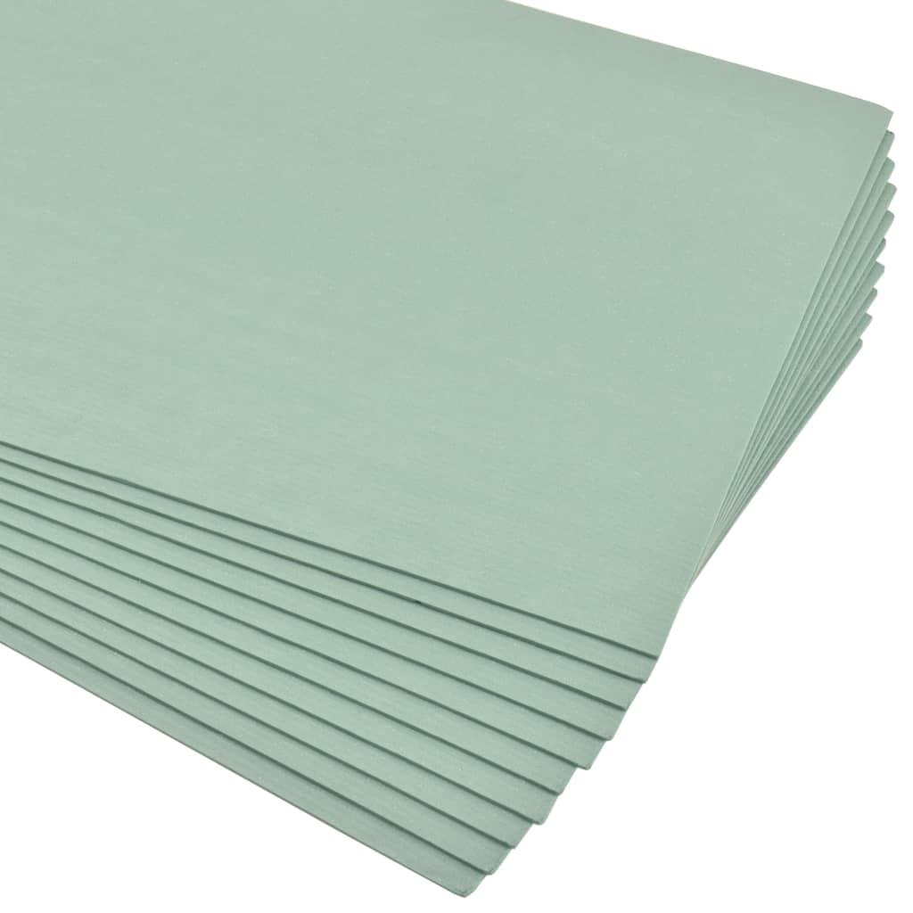 XPS-cellplastskivor 5 mm 100x50 cm grön 70 m²