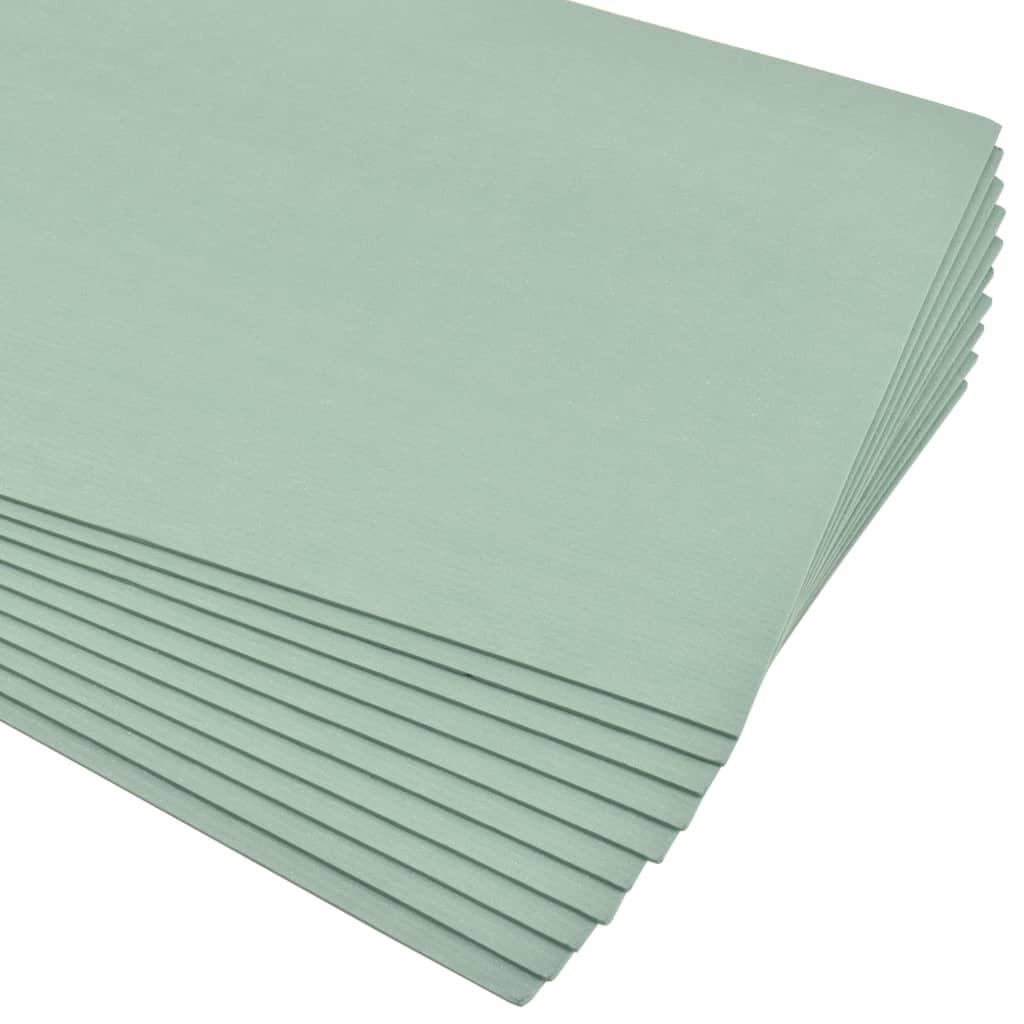 XPS-cellplastskivor 5 mm 100x50 cm grön 90 m²