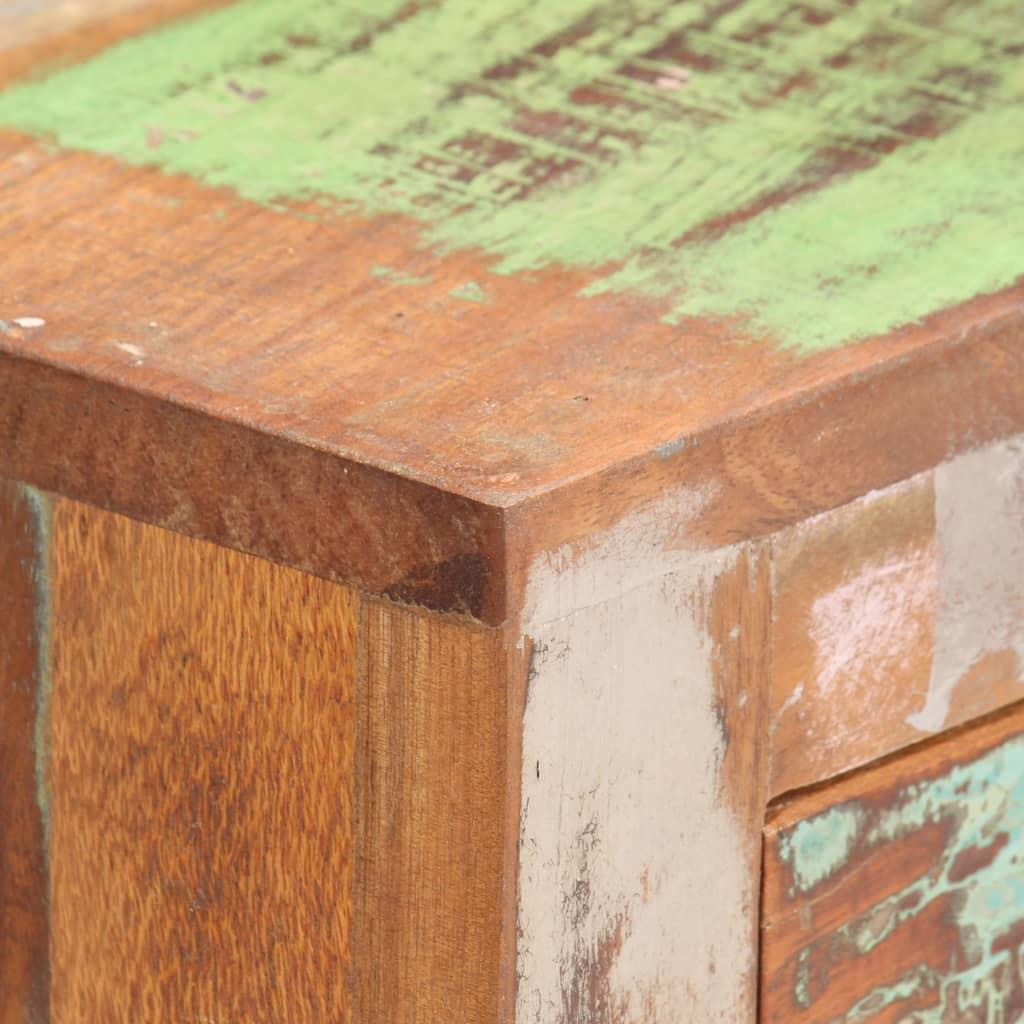 Skänk 80x30x70 cm massivt återvunnet trä